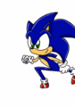 Sonic drawing - sonic-the-hedgehog photo