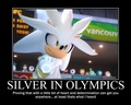 Silver in the Olympics  - sonic-the-hedgehog photo