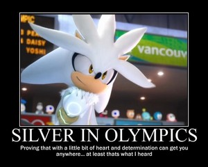 Silver in the Olympics