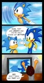 Sonic fail in homing shot - sonic-the-hedgehog photo
