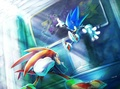 .:Sonic V.S. Knuckles:. - sonic-the-hedgehog photo
