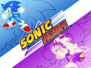 Sonic Rush wallpaper