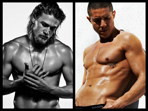 Sons Of Anarchy wallpaper containing a hunk, a six pack, and skin called Jax