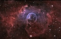 The Bubble Nebula - space photo
