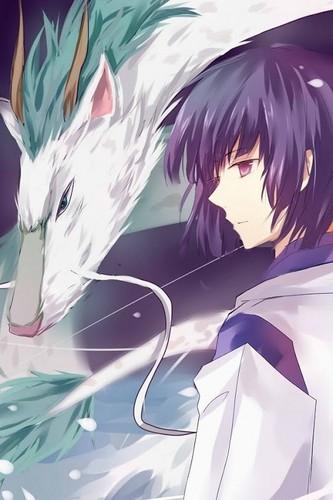 masigla ang layo wolpeyper probably containing anime called Haku <3 <3 <3