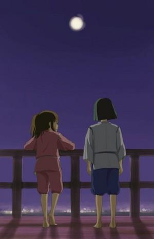 Sen and Haku...