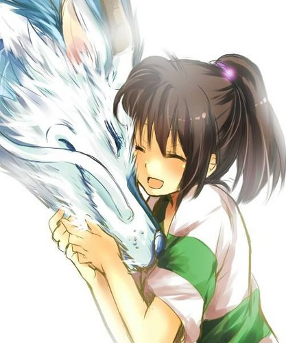 Spirited Away پیپر وال probably containing عملی حکمت titled Awwwwwww ♥
