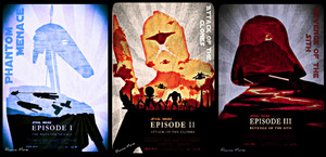 SW Prequel Trilogy Posters/Collage