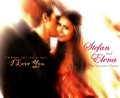 Stefan & Elena - the-vampire-diaries fan art