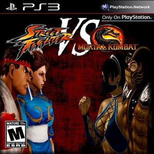 strada, via Fighter VS. Mortal Kombat Cover