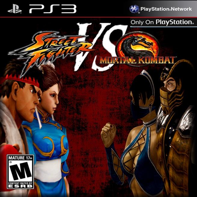 Jalan Street Fighter Vs Mortal Kombat Cover Jalan Jalan Street Fighter Vs Mortal Kombat Fan Art 36337504 Fanpop