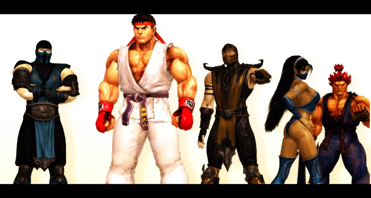 Street Fighter Vs Mortal Kombat Street Fighter Vs Mortal Kombat