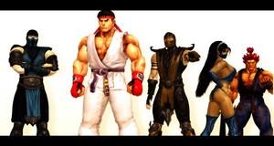 strada, via Fighter Vs. Mortal Kombat