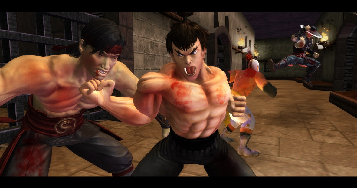 Fei Long And El Fuerte Vs Liu Kang And Kung Lao Street Fighter