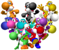 Yoshis everywhere!