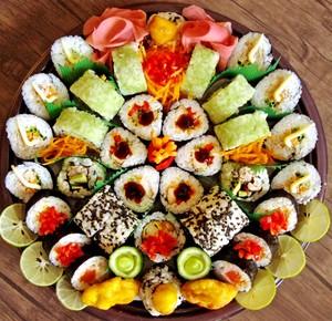sushi sahani, sinia