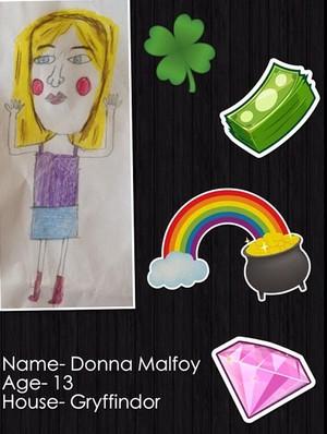 My OC: Donna Malfoy