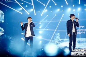 TVXQ at 'SMTOWN WEEK' 音乐会