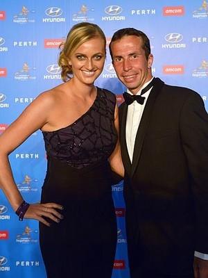Sexy couple Kvitova and Stepanek