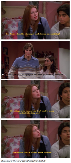 Donna and Kelso
