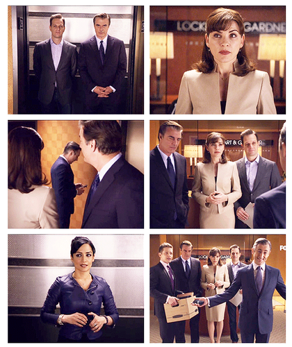 The Good Wife wallpaper called Suprise! (one of the best scene)