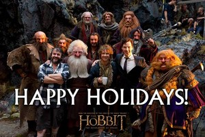 Happy Holidays! From Peter Jackson and the cast of The Hobbit