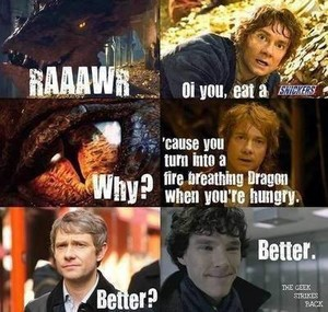 When Smaug eats Snickers