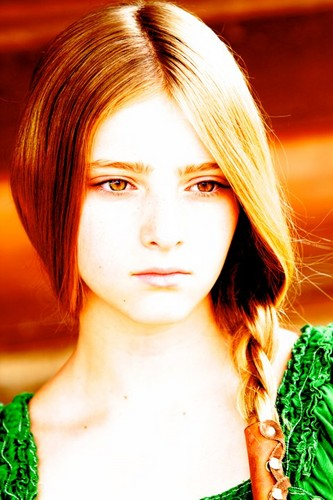 The Hunger Games wallpaper possibly with a bouquet, a broccoli, and a portrait titled Willow Shields (Prim)
