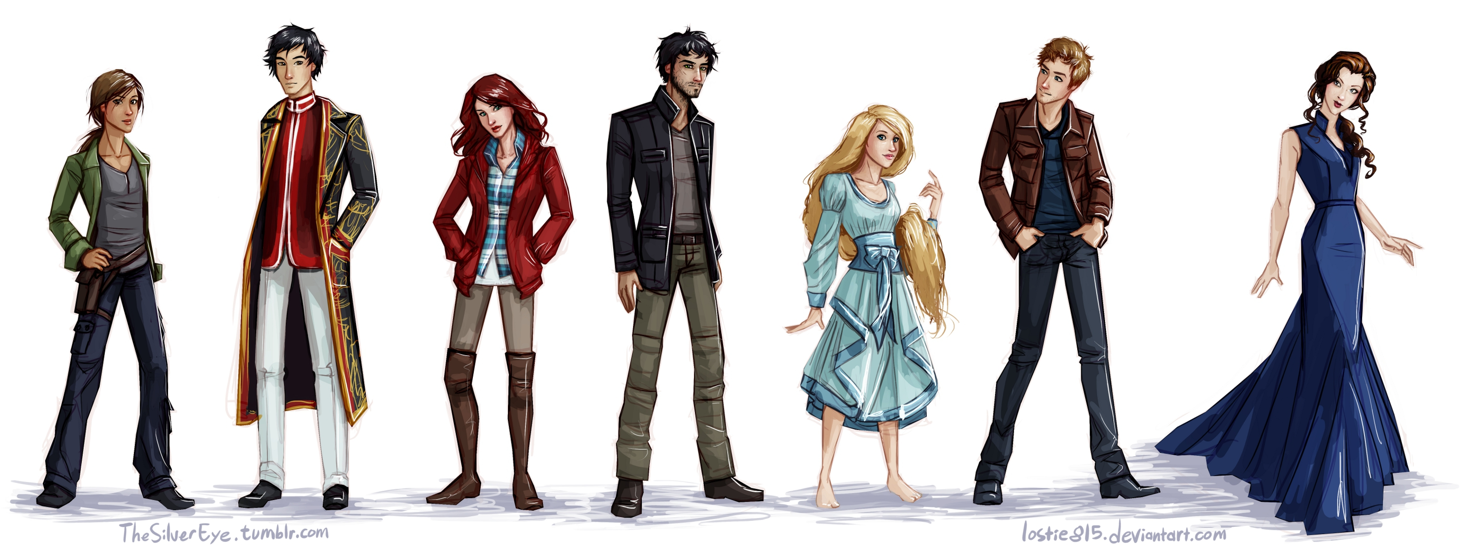 The Lunar Chronicles Characters