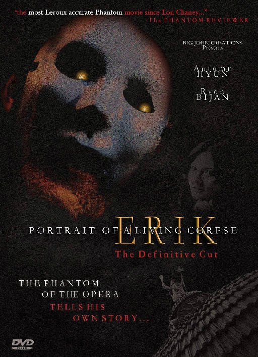 Erik: Portrait of a Living Corpse Cover