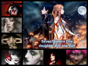 The Sven deadly sins Princess Anger and Prince Sloth