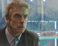 ....the clock is striking Twelve. - the-twelfth-doctor fan art