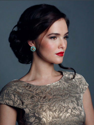 The Vampire Academy Blood Sisters वॉलपेपर entitled Zoey Deutch photoshoot with Afterglow magazine