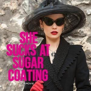 She sucks at sugar coating