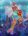 Winx Sirenix Princess (Layla) - the-winx-club fan art