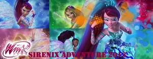 3D winx club sirenix