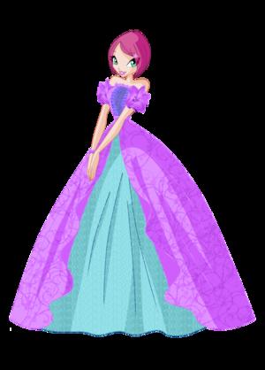 Tecna ball robe