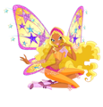 Stella in Layla - the-winx-club fan art
