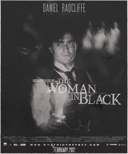 The Woman In Black wallpaper probably containing a sign, a newspaper, and Anime called The woman in Black