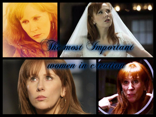 Donna Noble kertas dinding containing a portrait entitled The most Important women in creation