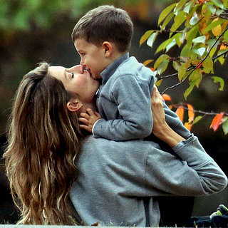 Tom Brady And Gisele Wallpaper Entitled Mother Son