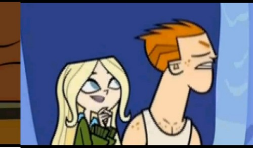 Total Drama Island Hintergrund with Anime titled Scott and dawn:3