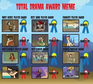 Total Drama Award Meme