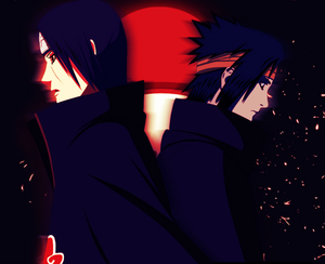 sasuke and itashi uchiha