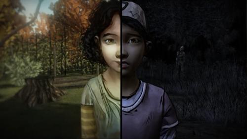 비디오 게임 바탕화면 titled The Walking Dead - Clementine