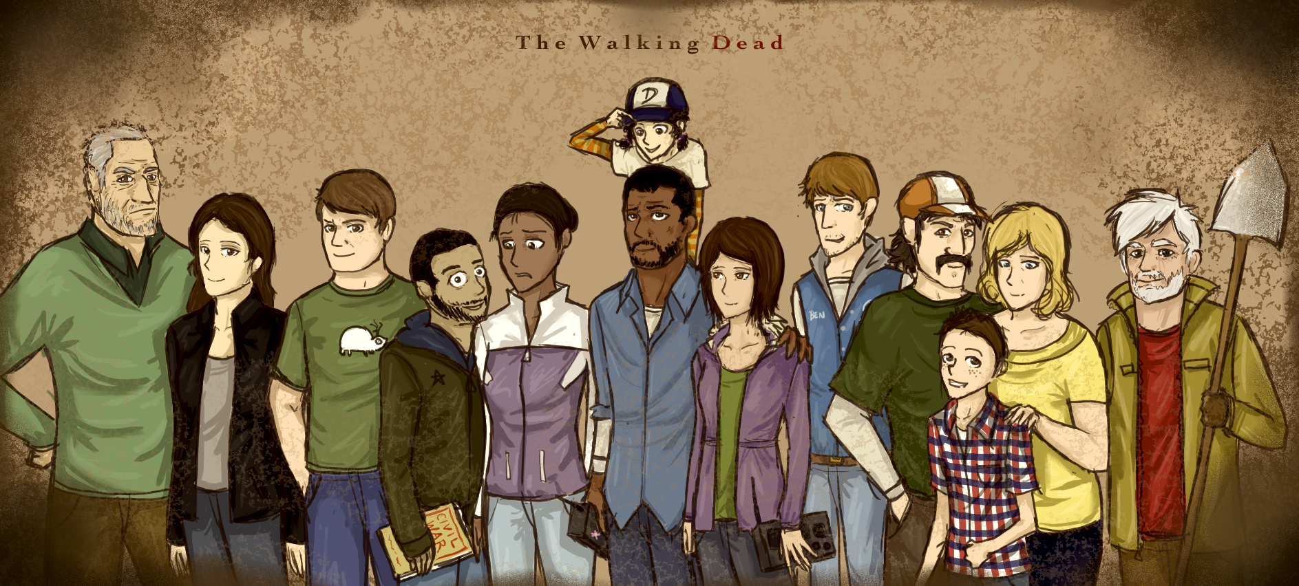 Video Games images The Walking Dead HD wallpaper and ...