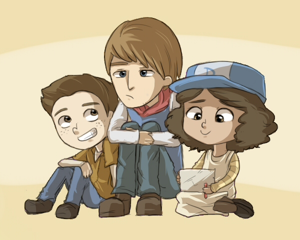 Duck, Ben and Clem
