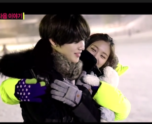 Taemin and Naeun