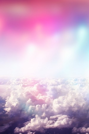 Above the clouds iphone 壁纸