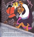 Walt Disney Book Images - Gaston & The Beast